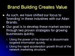 brand building creates value9