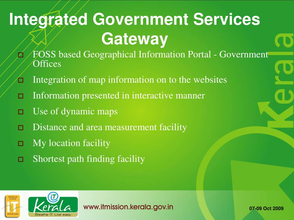 FOSS based Geographical Information Portal - Government Offices