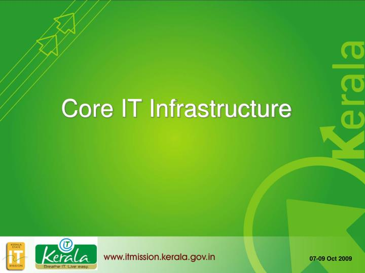 Core IT Infrastructure