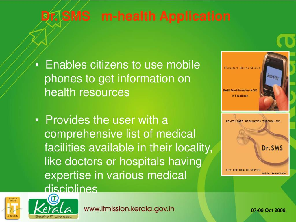 Dr. SMS   m-health Application