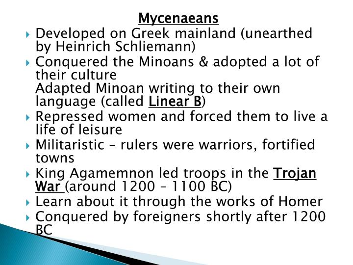 the minoans essay During the civilizations of minoan crete and mycenae of mainland greece, many changes impacted minoan civilization in which some cultural legacies of the minoans.
