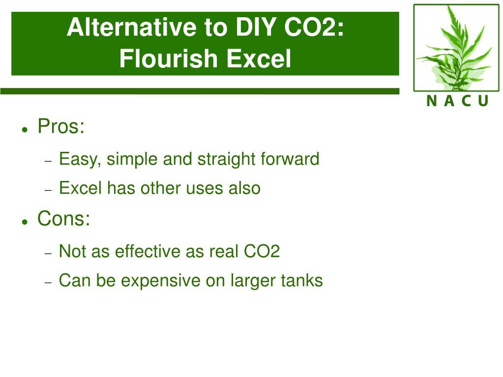 Alternative to DIY CO2: