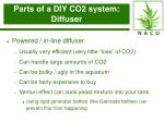 parts of a diy co2 system diffuser29
