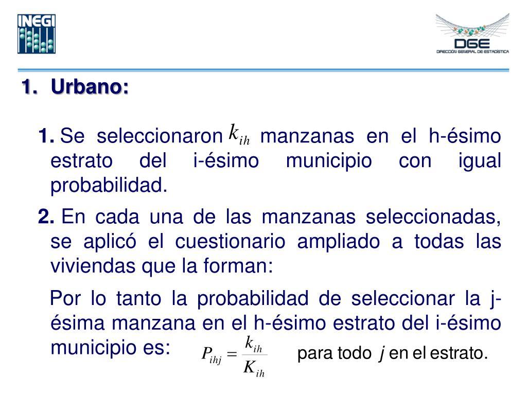 Urbano: