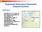 engineered subsurface wastewater disposal systems15