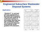 engineered subsurface wastewater disposal systems20