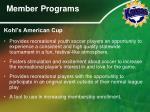 member programs5