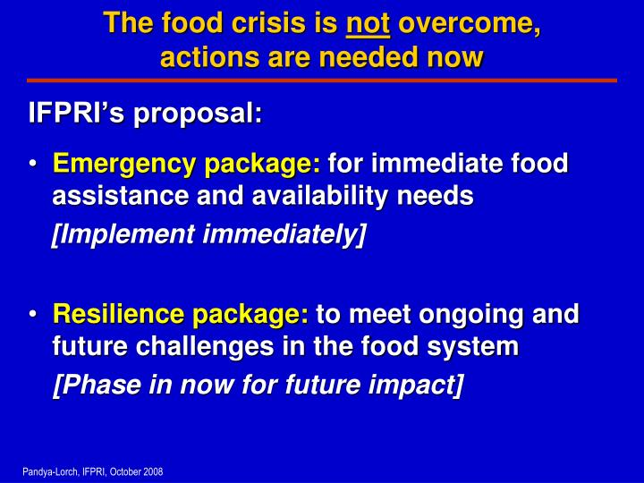 world food crisis causes and effects Low quality production causes long term damage to the environment, obesity and hunger simultaneously and is ultimately the primary cause of the global food crisis we can therefore see how the global food crisis has become manifest in the factors which are outlined at the start of the report.