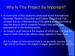 why is this project so important2
