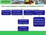 the central islamic committee of thailand cicot4
