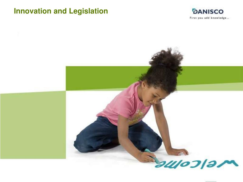 Innovation and Legislation
