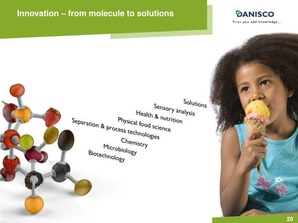 Innovation – from molecule to solutions