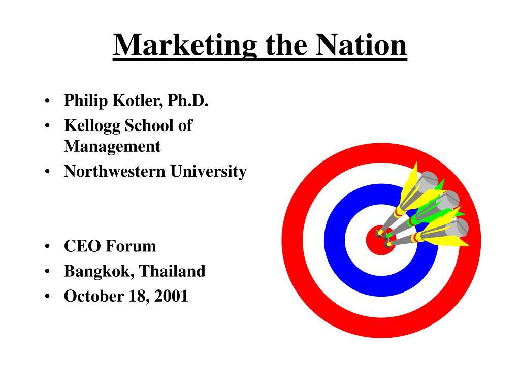 marketing the nation l.