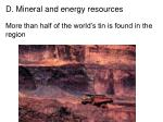 d mineral and energy resources21