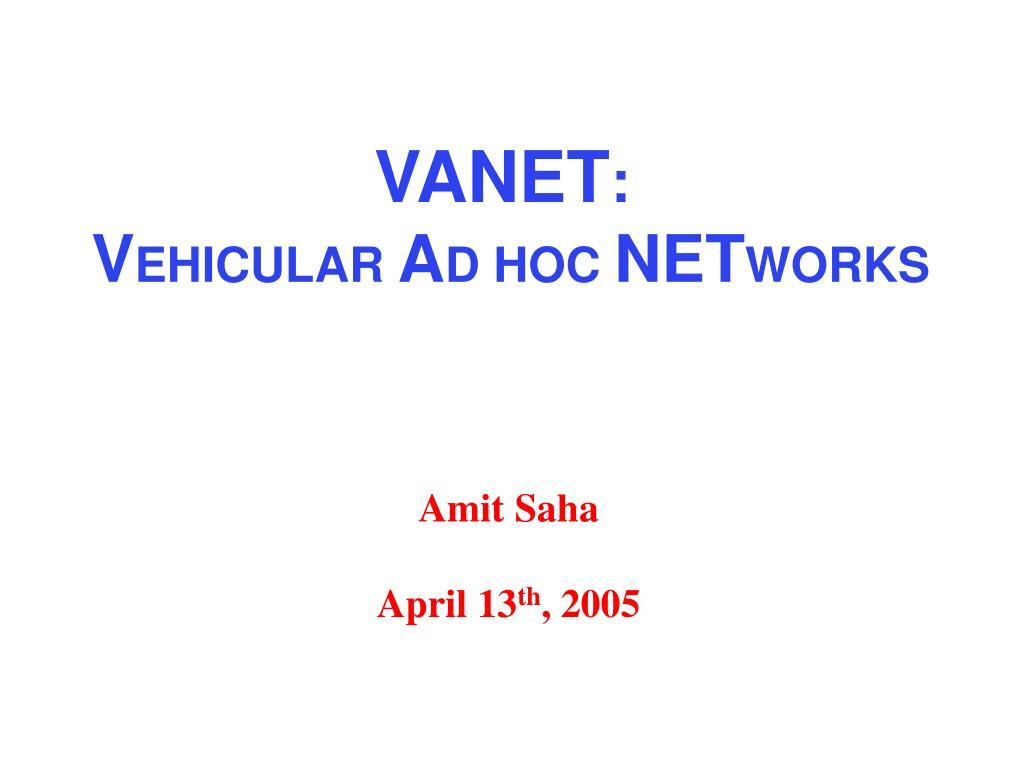 amit saha april 13 th 2005 l.