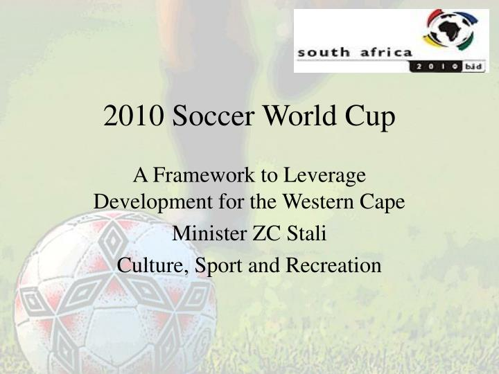 2010 soccer world cup n.