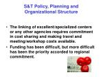 s t policy planning and organizational structure21