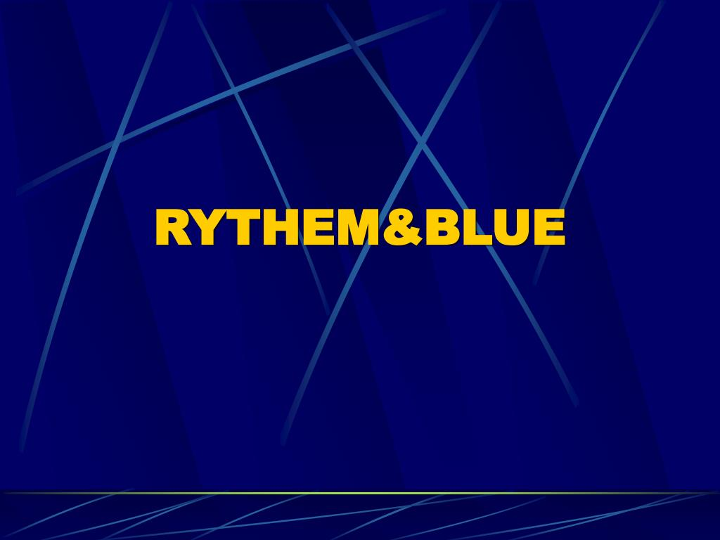 RYTHEM&BLUE