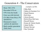 generation 4 the conservators