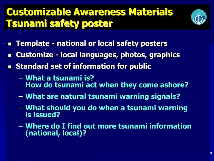 Customizable Awareness Materials