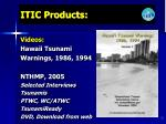 itic products