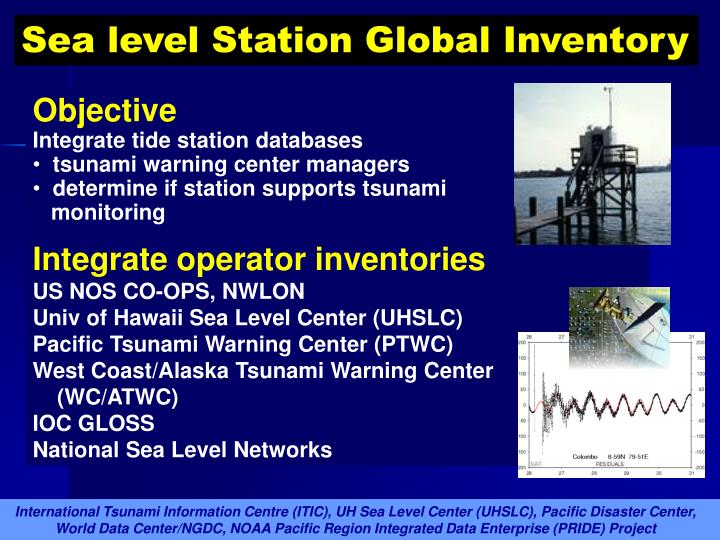 Sea level Station Global Inventory