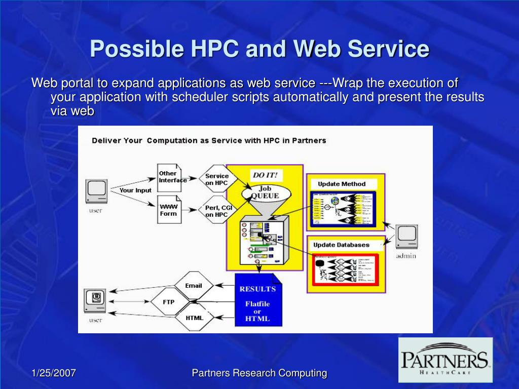 Possible HPC and Web Service
