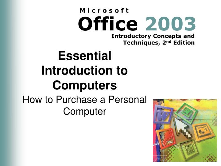 essential introduction to computers n.