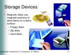 storage devices11