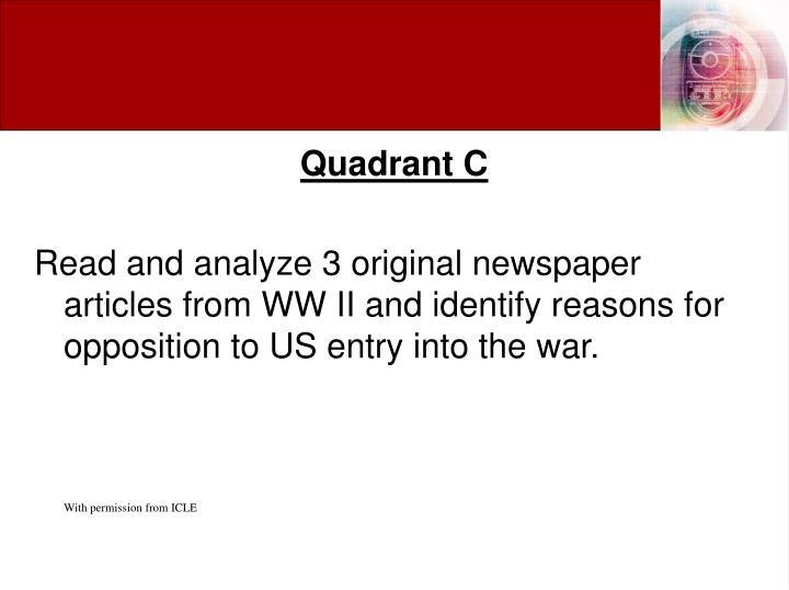Quadrant C