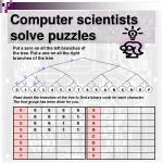 computer scientists solve puzzles