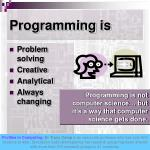 programming is
