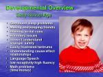 developmental overview early school age