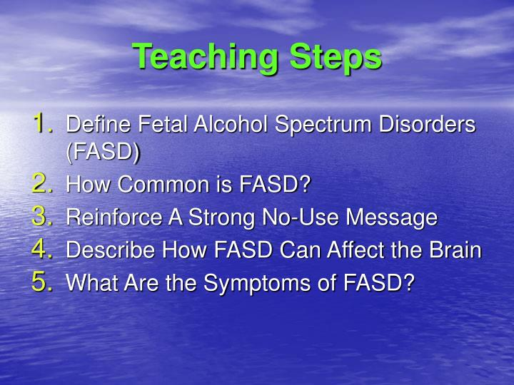 Teaching Steps