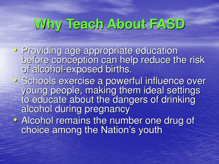 Why Teach About FASD