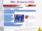 bbc 18 marzo 2010