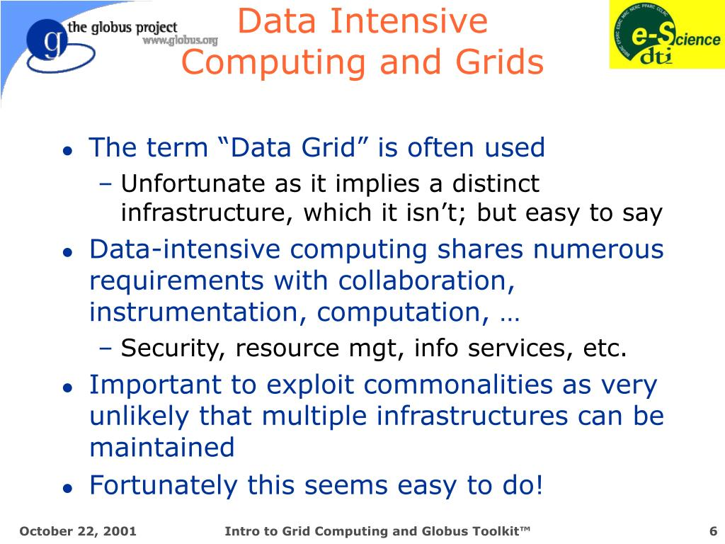 Data Intensive