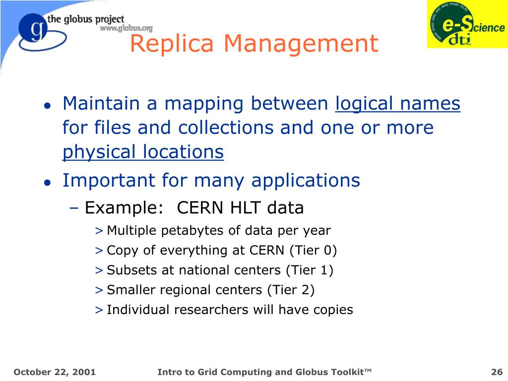Replica Management