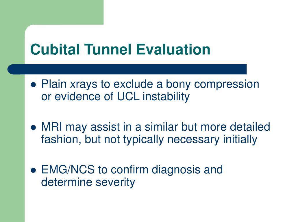 Cubital Tunnel Evaluation