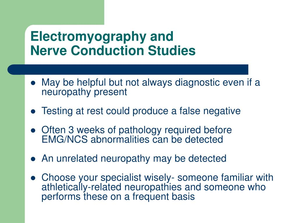 Electromyography and