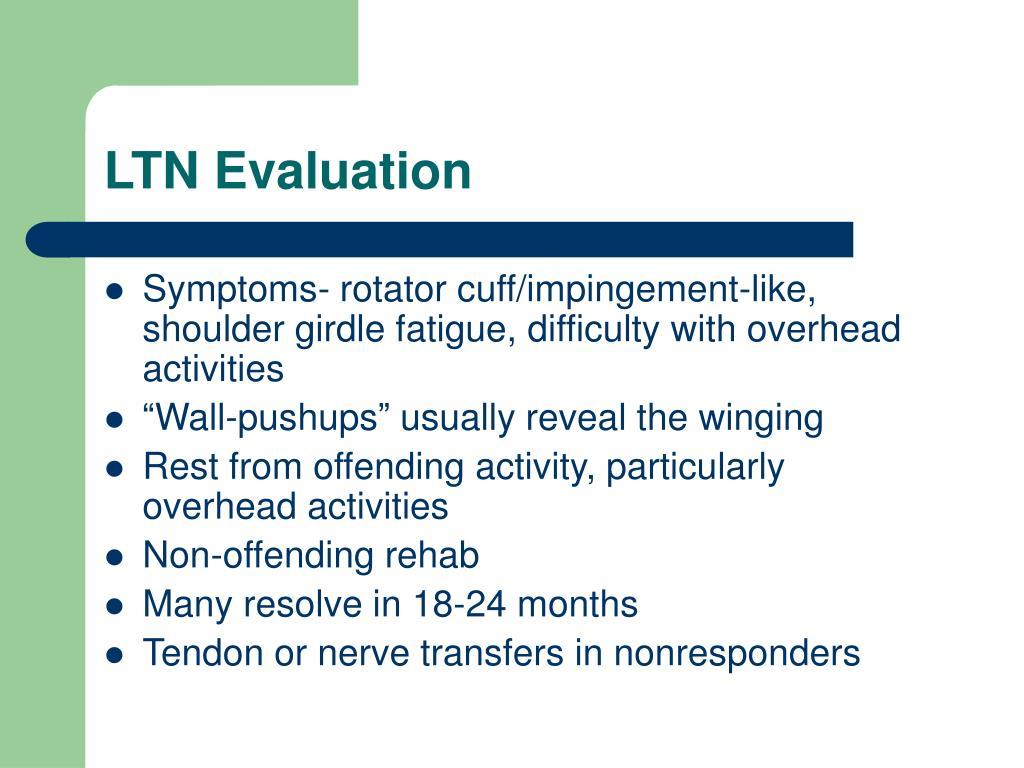LTN Evaluation