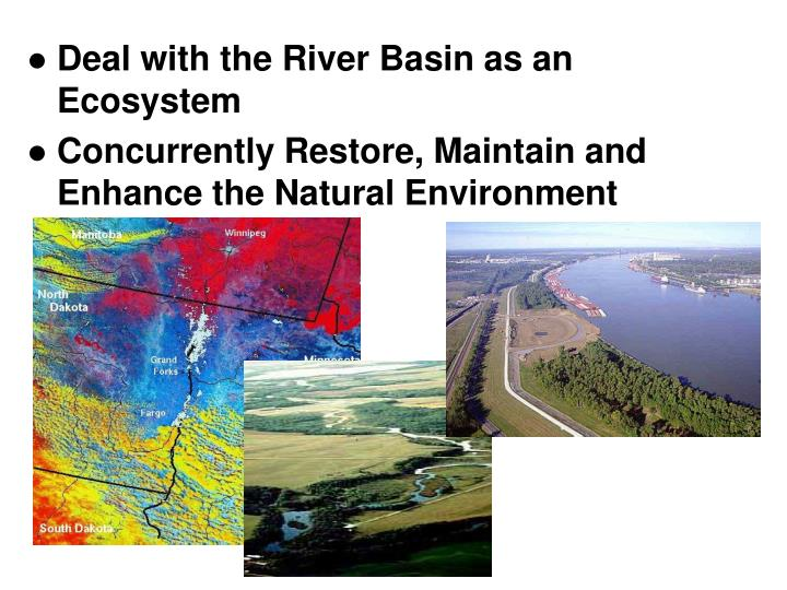 Deal with the River Basin as an Ecosystem