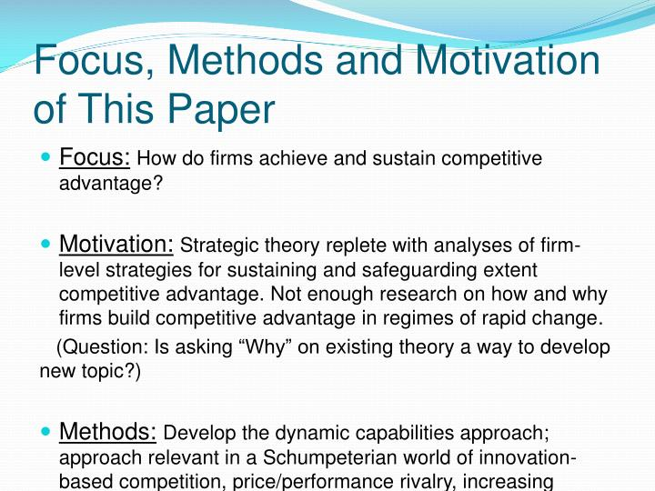 motivational methods paper Hcs 325 entire course click to  assignment motivational methods paper  which you discuss at least 3 motivational methods you would apply as a manager and.