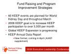 fund raising and program improvement strategies18