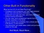 other built in functionality12