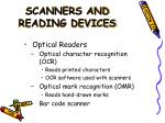 scanners and reading devices17