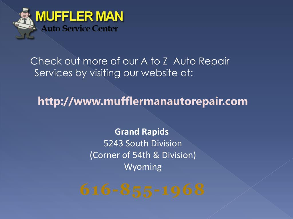 Check out more of our A to Z  Auto Repair Services by visiting our website at: