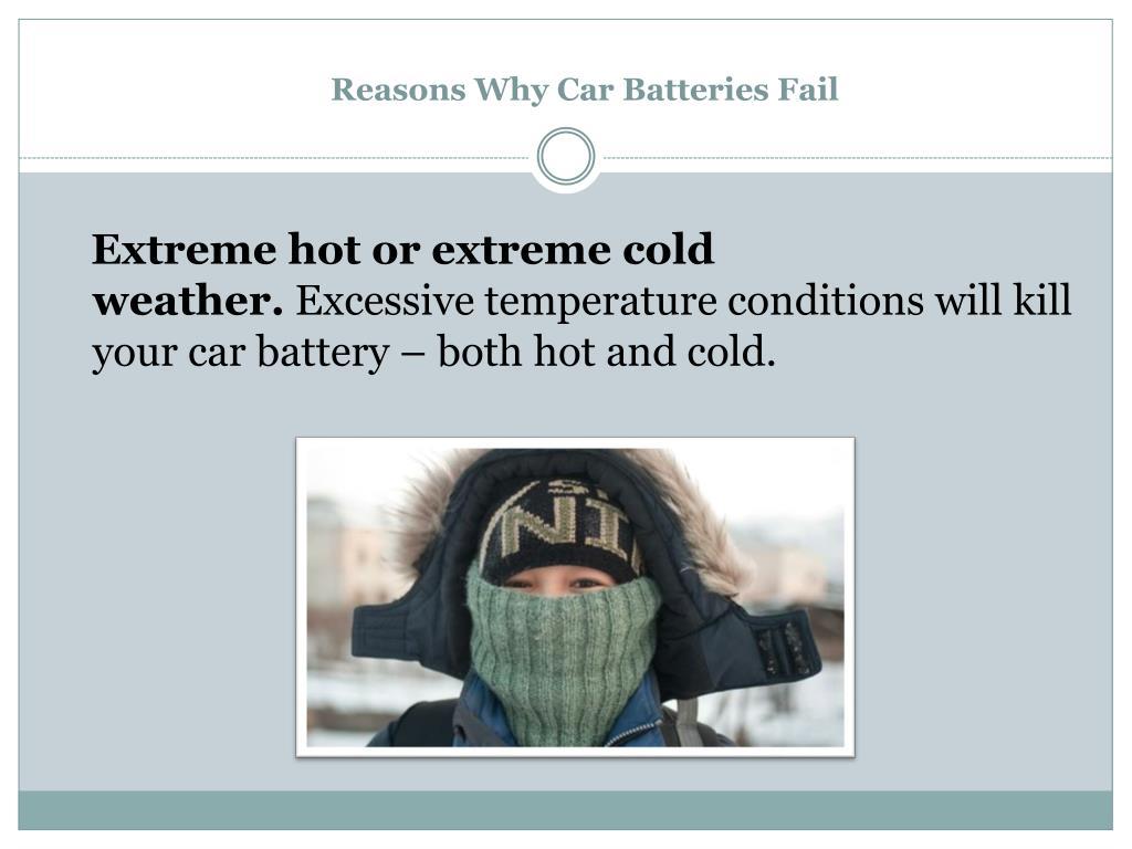 Reasons Why Car Batteries Fail