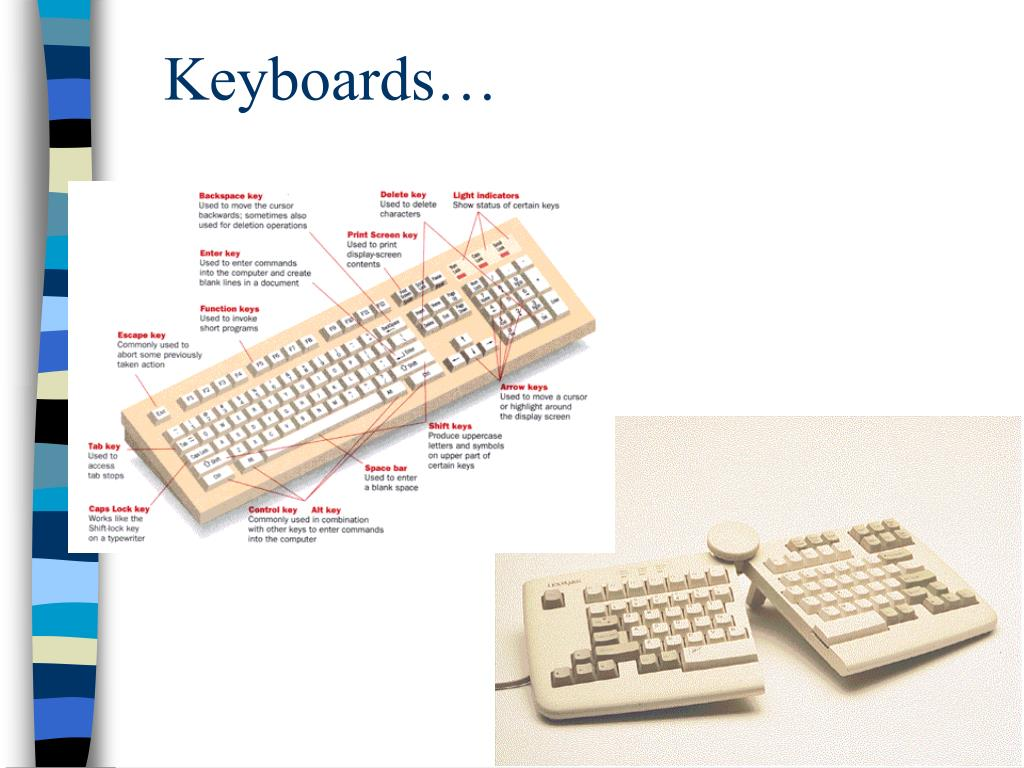 Keyboards…