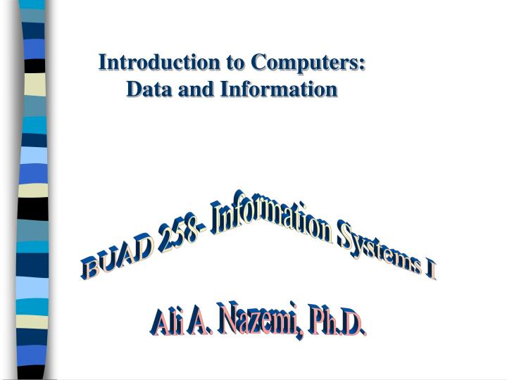 Introduction to Computers: